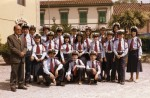 Gruppo di allievi con Morando